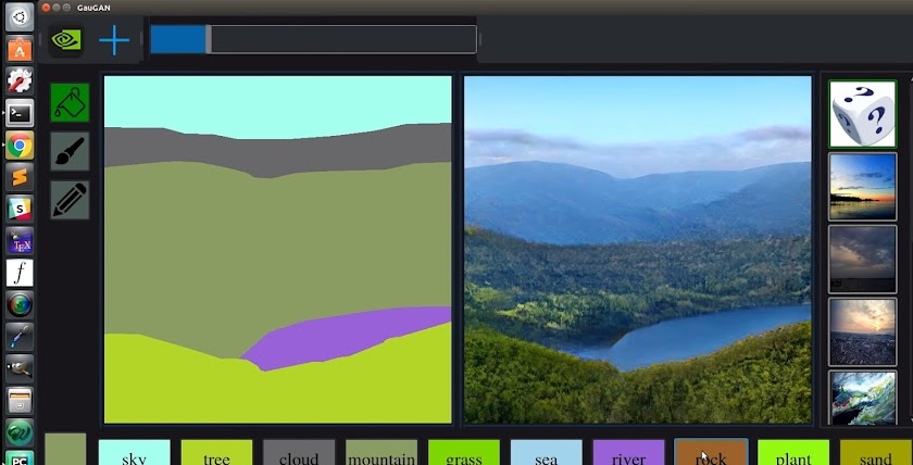 This is how NVIDIA's AI Can Turn Doodles Into Landscape Images