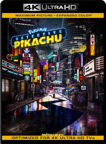 Pokémon detective Pikachu (2019) 4K 2160p UHD [HDR] Latino [GoogleDrive]