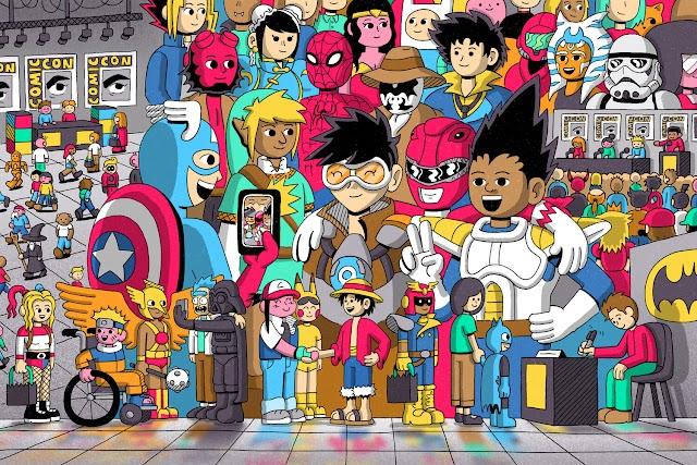 Comic-Con 2021, Tanpa Marvel dan DC Namun Tetap Menarik!