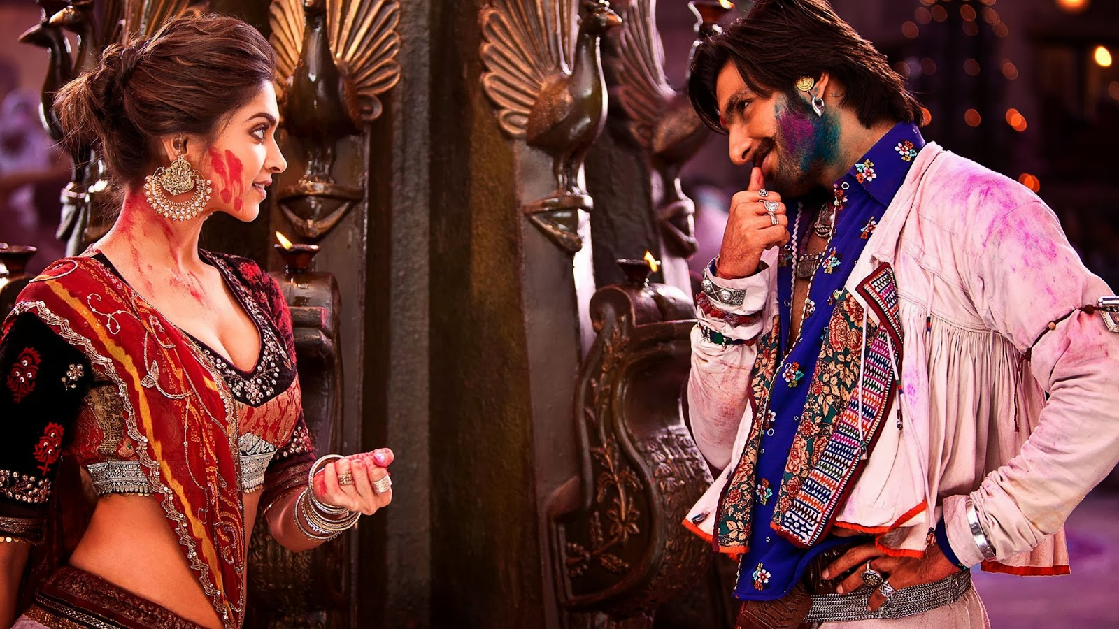 RAM LEELA MOVIE HD STILLS FT. DEEPIKA PADUKONE & RANVEER ...
