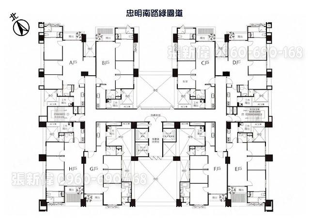 嘉磐樸樹,嘉磐建設,kaban,hackberry,全區圖,格局圖
