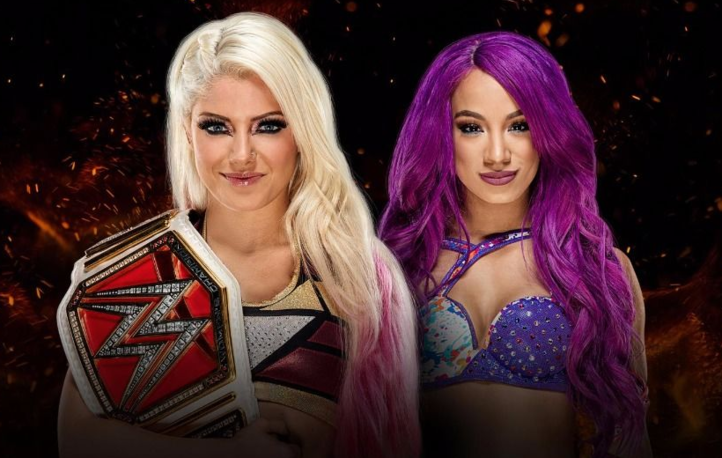 Alexa Bliss Vs Sasha Banks