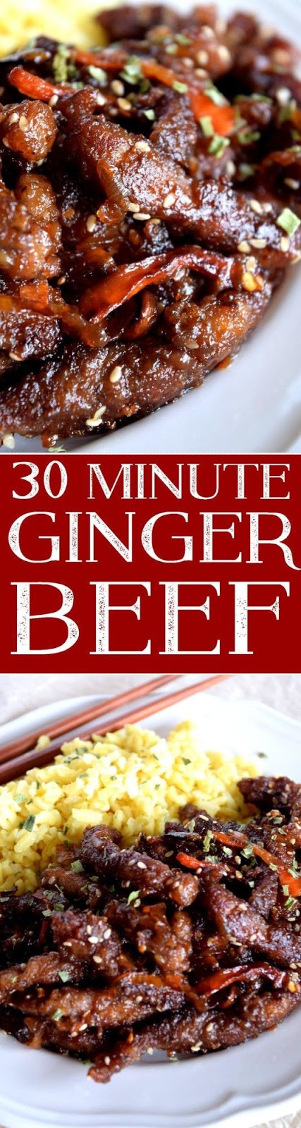 30 Minute Ginger Beef - Beef Recipes