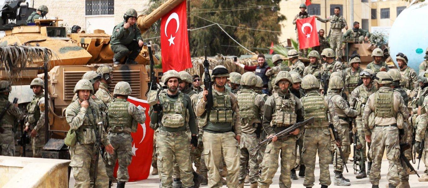 Η Τουρκία καταλαμβάνει τη Βόρεια Συρία: Στους 30.000 οι Τούρκοι στρατιώτες - 57 στρατιωτικές βάσεις