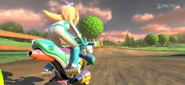 Mario Kart 8 Rosalina biker suit