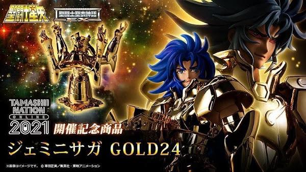 Saga de Géminis Metal EX Gold 24K Tamashii Nation 2021
