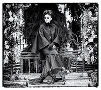 "Mara Desypris ""Women in the garden' for Vassilis Zoulias - black and white"