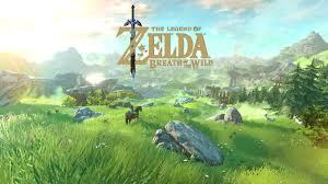 The Legend of Zelda: The breath of the wild logo