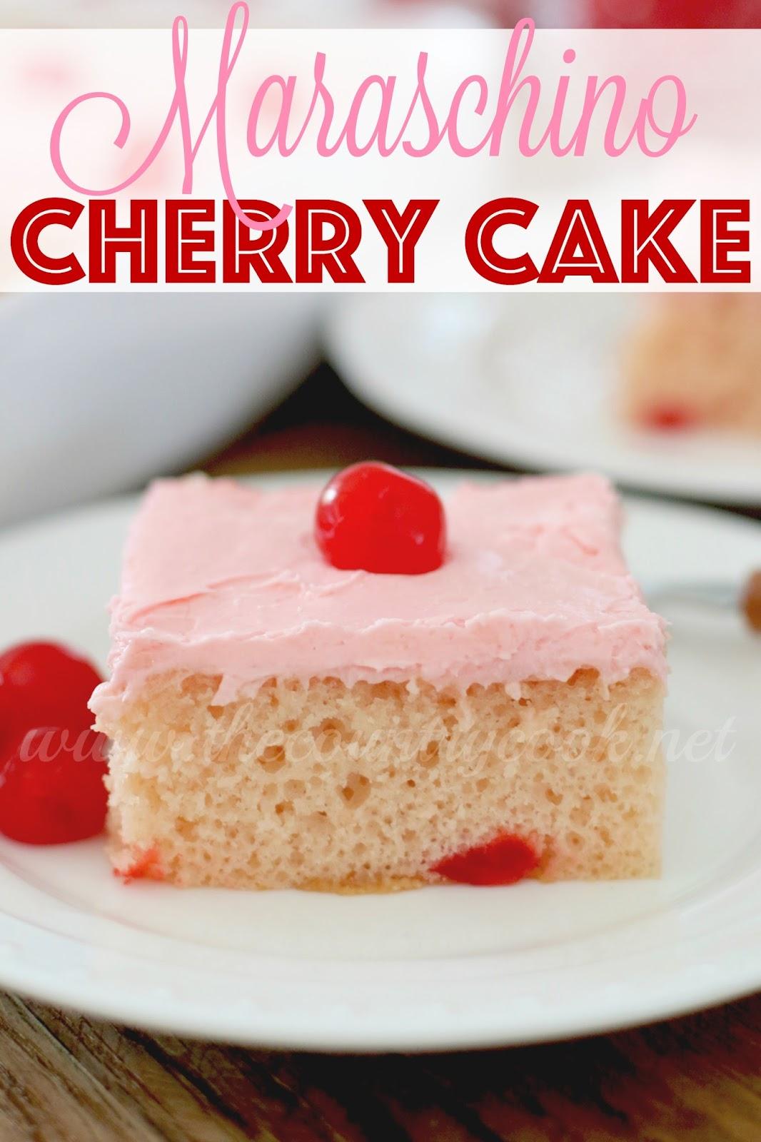 Maraschino cherry cake mix recipes