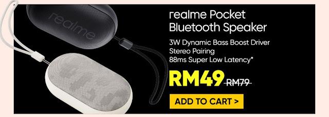 Realme Pocket Bluetooth Speaker