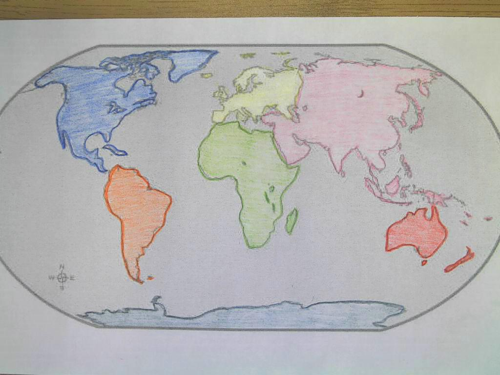 Bt Wilson Bobcat Social Stu S Continents Amp Oceans Foldable