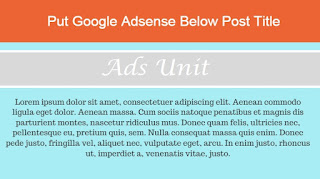 add-adsense-below-post-title