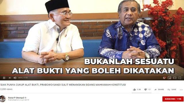 Meski Kecurangan TSM Dapat Dibuktikan, Eks Hakim MK Sebut Jokowi Tak Bisa Didiskualifikasi