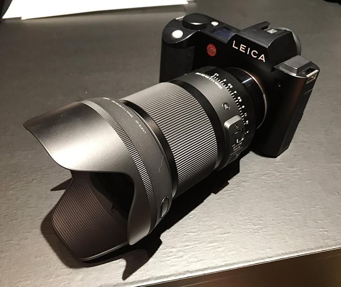 Объектив Sigma 35mm f/1.2 DG DN Art и Leica SL