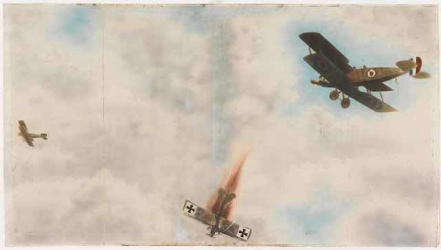 Dogfight of world war 1 ans world war 2