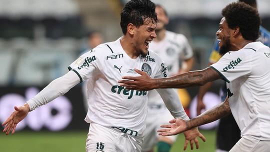 1x0: Palmeiras vence Grêmio fora de casa e larga na frente na decisão da Copa do Brasil.
