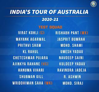 Squad team, Cricketnews