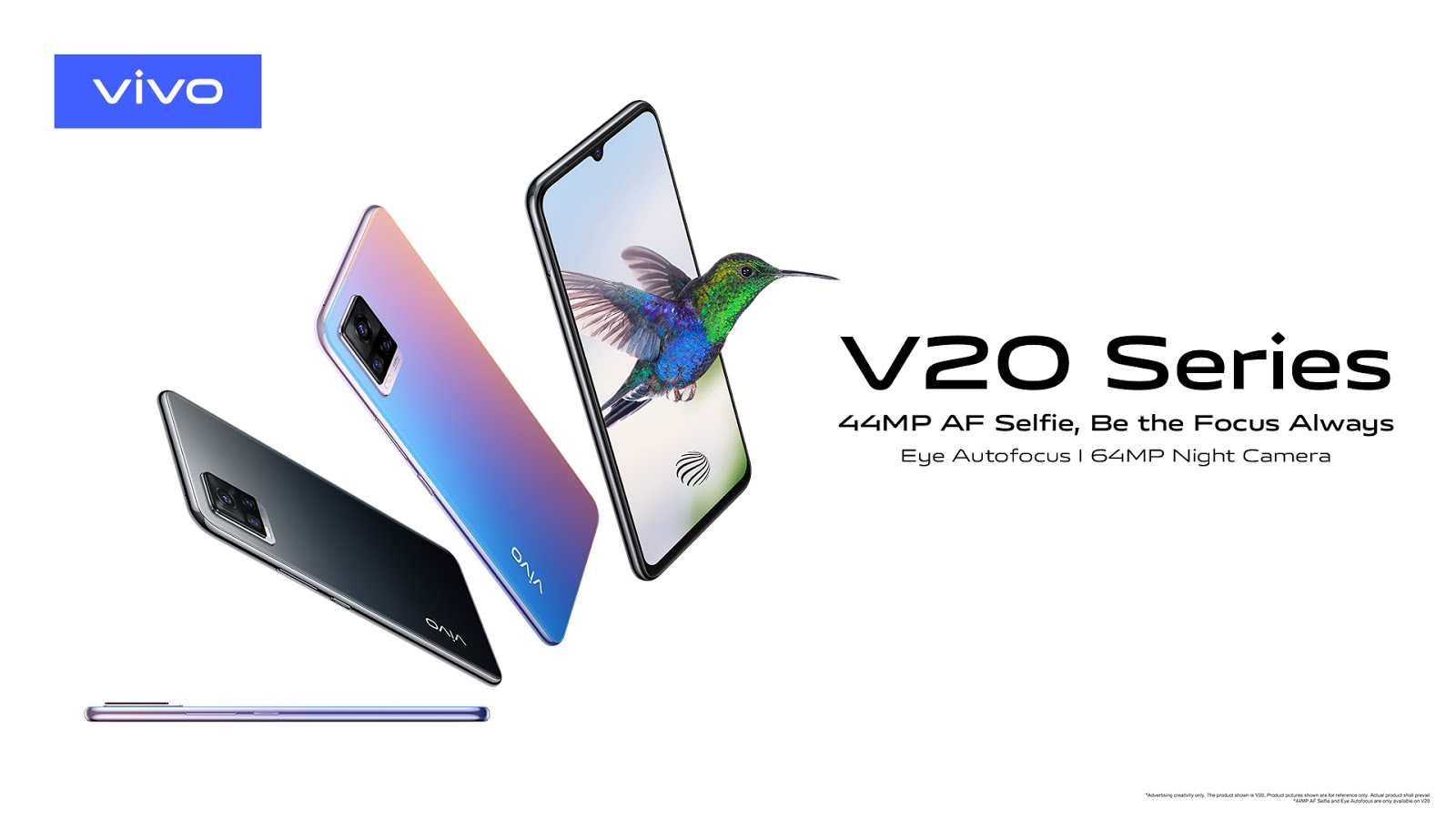 vivo Launches V20 in Pakistan, 44MP Eye Autofocus, 7.38mm Ultra Sleek and 64MP Night Camera