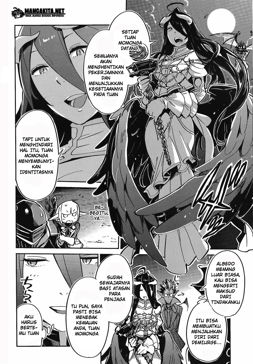 Manga Overlord Chapter 2 Bahasa Indonesia