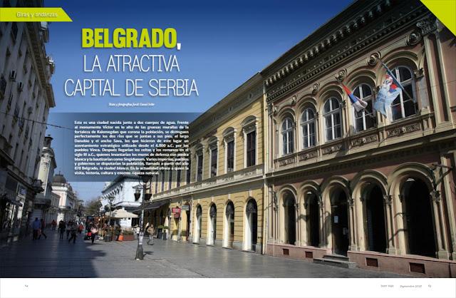 Belgrado, la atractiva capital de Serbia
