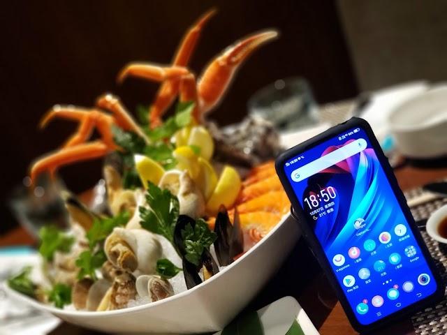 和味體驗:帶著 vivo NEX 雙屏版嘆 「和牛海膽盛合」自助晚餐