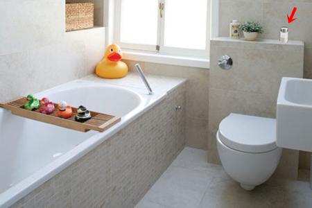 Banheiro fresquinho