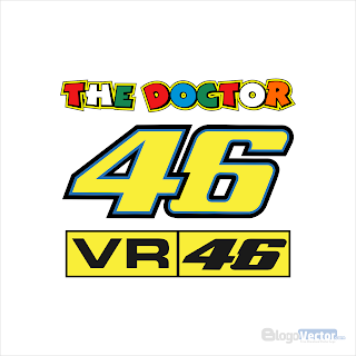VR 46 The Doctor Logo vector (.cdr)