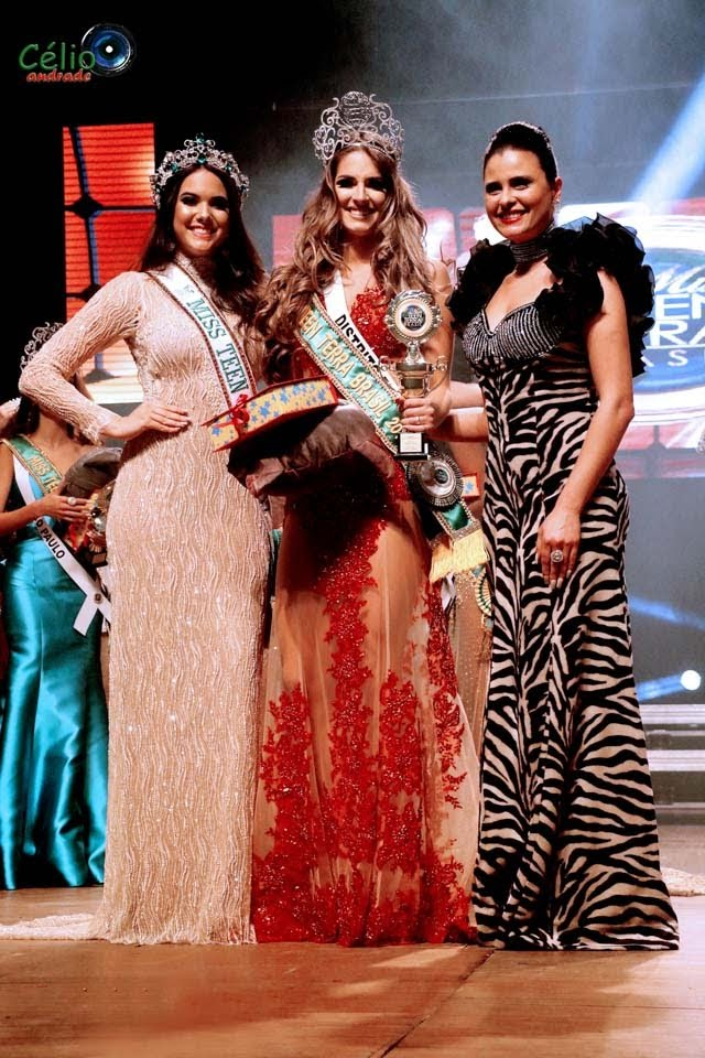 Miss Teen Earth 2017 e Miss Teen Terra Brasil 2018. Foto: Célio Andrade
