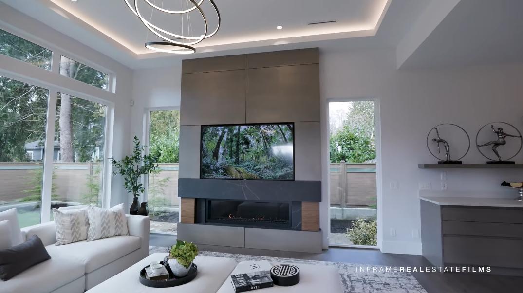 91 Interior Design Photos vs. 3903 Loraine Ave, North Vancouver, BC Luxury Home Tour