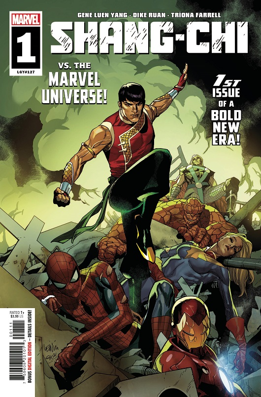 Cover of Shang-Chi #1