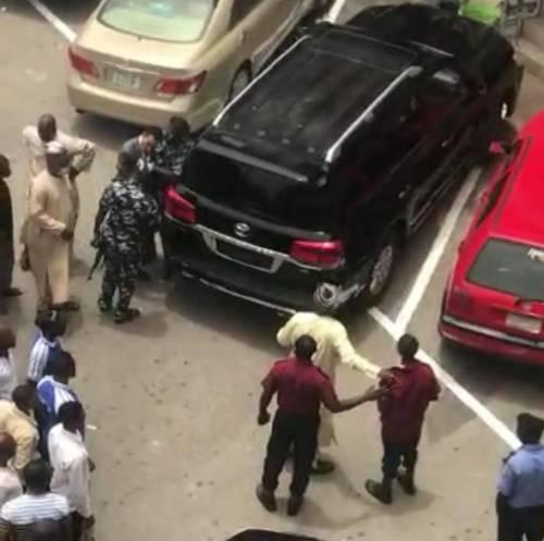 Nigerians Demand CCT Chairman Arrest For Assaulting Security Guard