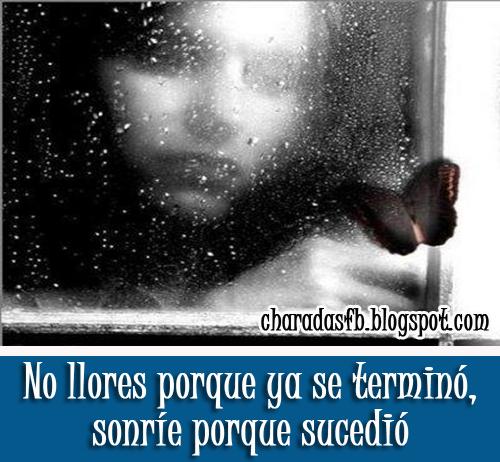 Frases Para Tu Facebook No Llores Porque Ya Se Terminó