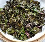 Kale Chips Vinaigrette
