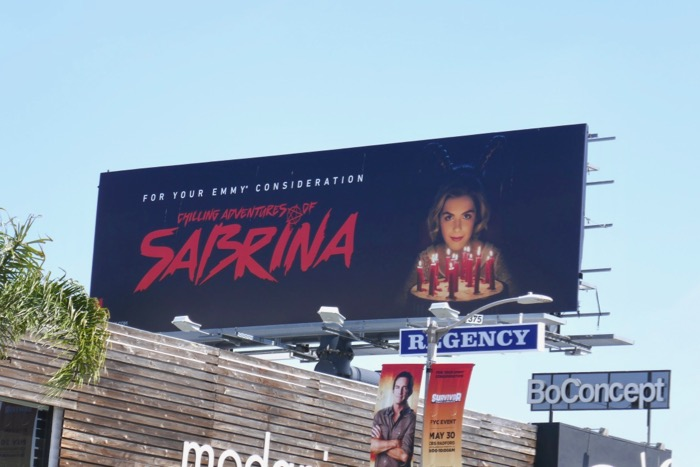 Chilling Adventures Sabrina 2019 Emmy FYC billboard