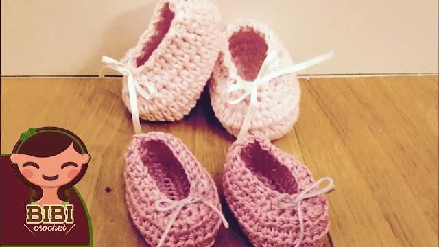 Cómo hacer zapatos para bebé de 0 a 3 meses