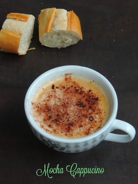 Mocha Coffee, Mocha Cappuccino