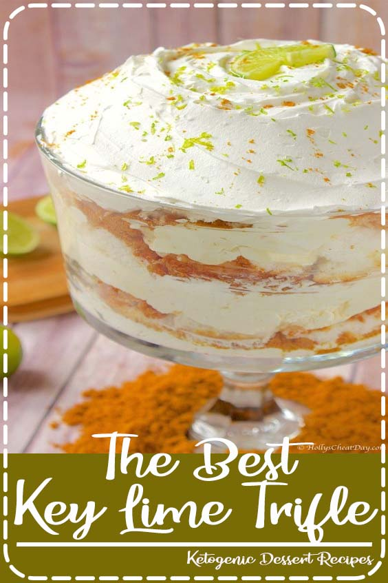 tart fruit desserts continues today with this amazing trifle The Best Key Lime Trifle
