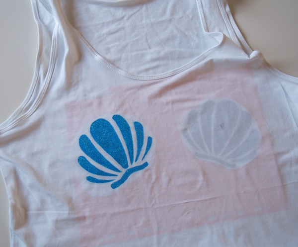 DIY : t-shirt sirène