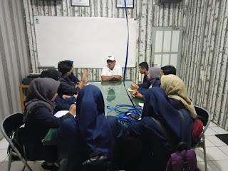 Mahasiswa Poltek Datangi PDAM Kotabaru