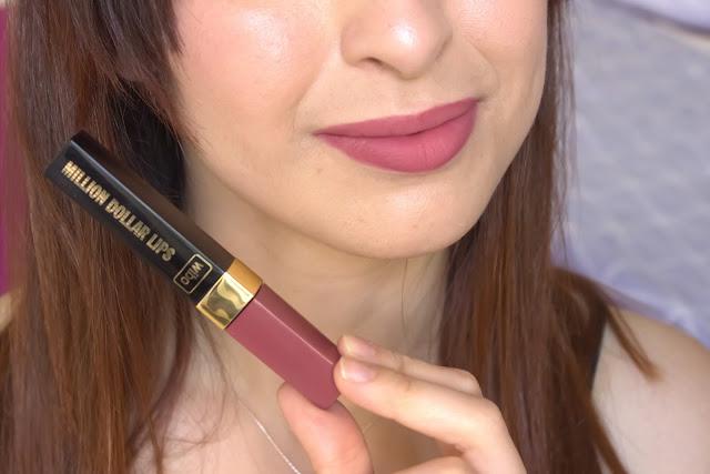 rouges à lèvres liquide, dupe sephora sans transfert, tunisie, blogueuse tunisienne, swatches, million dollar lips, lipliner bell, wibo
