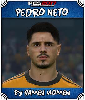 PES 2017 Faces Pedro Neto by Sameh Momen