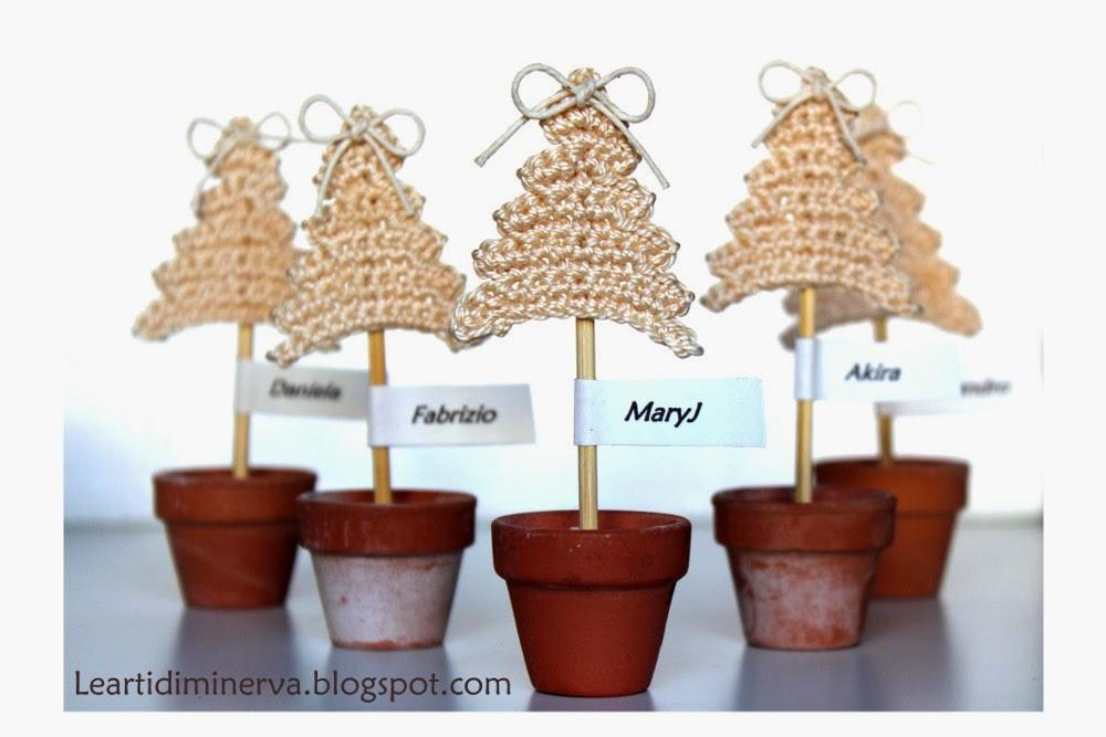 Albero Di Natale Alluncinetto Semplicissimo.Maryj Handmade Albero Di Natale All Uncinetto 2 Crocheted