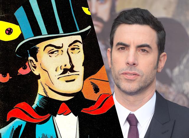 Sacha Baron Cohen será el protagonista de 'Mandrake el mago'