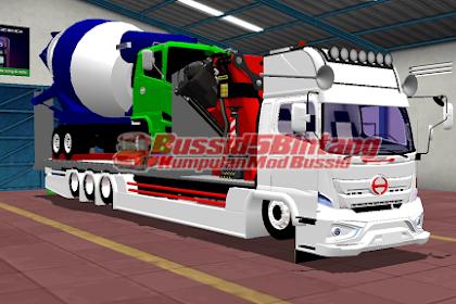Mod Bussid Hino 500 muatan Hino V5