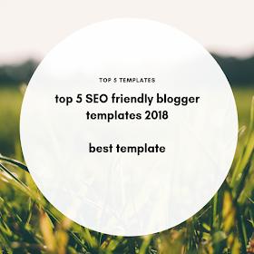 Blogger templates, SEO friendly blogger template