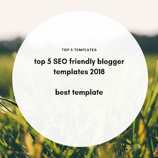 Blogger templates, SEO friendly blogger template