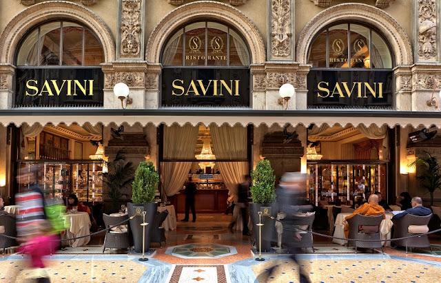 Restaurante Savini em Milão