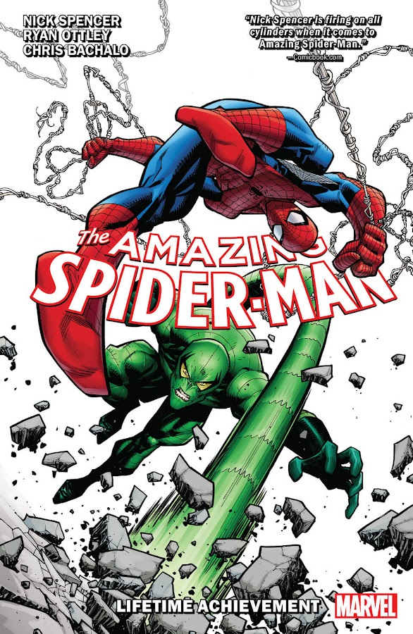 amazing spider-man lifetime achievement nick spencer marvel comics ryan ottley