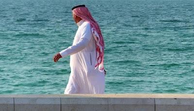 Ilustrasi pria Arab Saudi