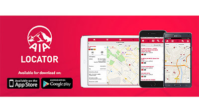 Perisian AIA Locator untuk Telefon Android atau iOS